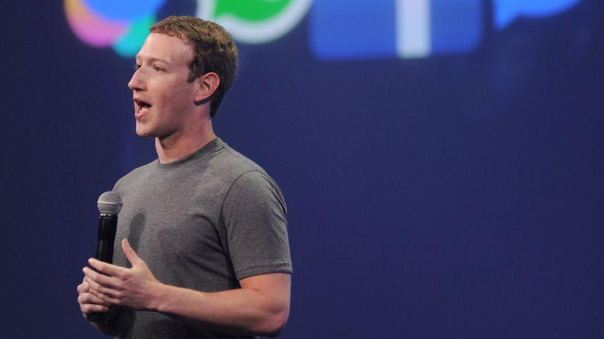 Mark Zuckerberg während eines Events