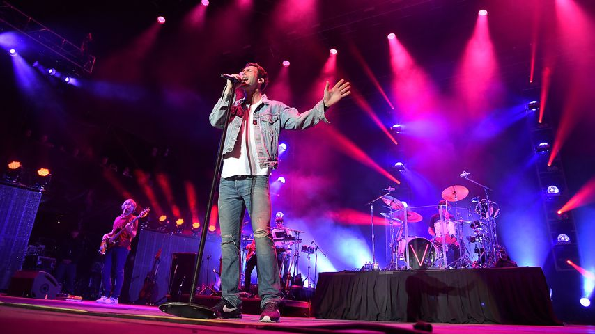 Maroon 5 beim NCAA March Madness Music Festival