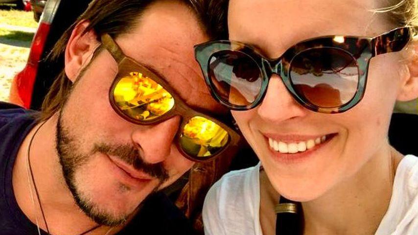 """Ex-""""Unter uns""""-Star Marcel Saibert und seine Frau Nadine"""