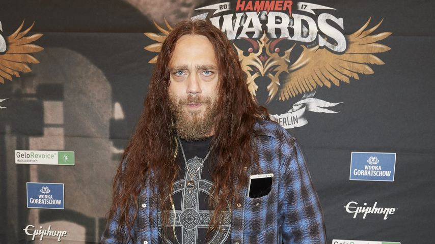 Martin Kesici bei den Metal Hammer Awards 2017