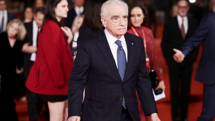 Regisseur Martin Scorsese während der Filmfestspiele in Rom, 2019