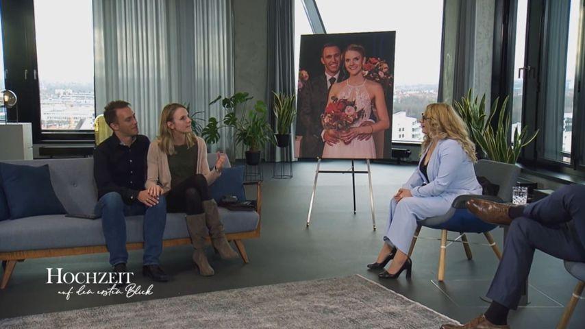 """Martin und Ariane mit den """"Hochzeit auf den ersten Blick""""-Experten"""