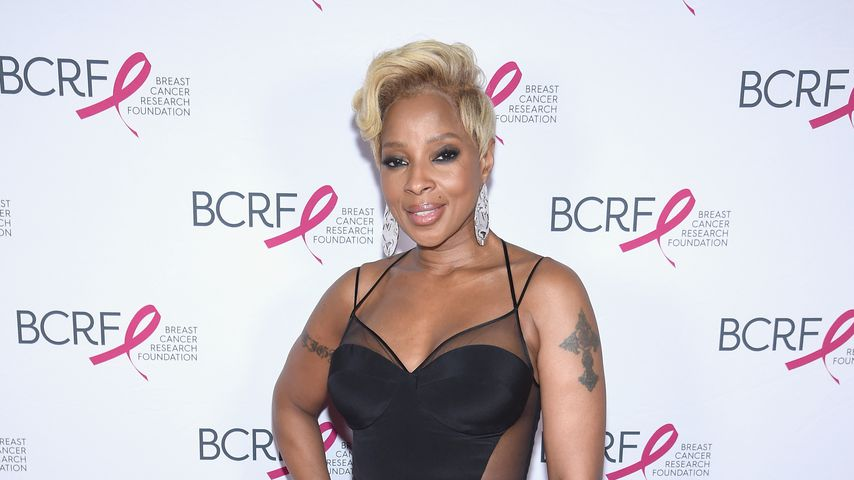 Mary J. Blige auf der Breast Cancer Research Foundation Hot Pink Gala
