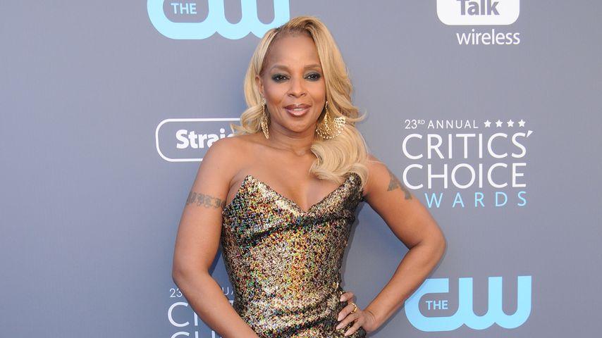 Mary J. Blige bei den Critics' Choice Movie Awards 2018 in Los Angeles