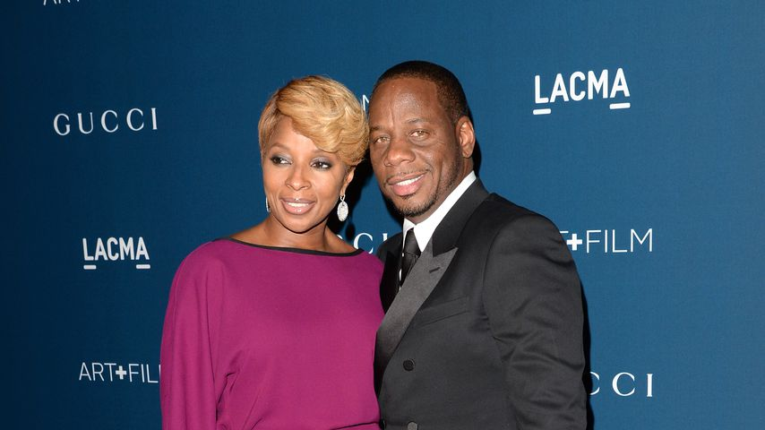 Mary J. Blige und Martin Isaacs bei der LACMA 2013 Art + Film Gala