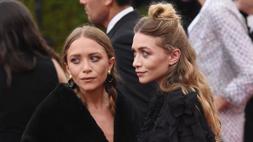 Mary-Kate Olsen und Ashley Olsen bei einer Gala