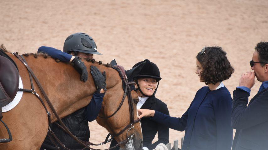 Mary-Kate Olsen und Olivier Sarkozy mit Freunden bei einem Reitturnier in den Hamptons