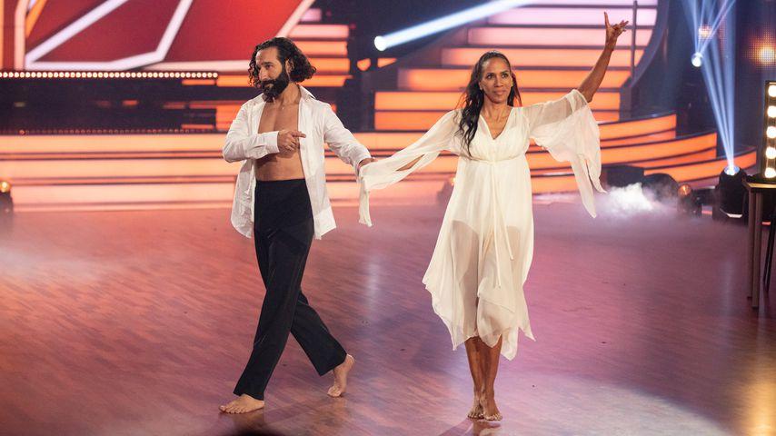 """Massimo Sinató und Barbara Becker bei """"Let's Dance"""""""