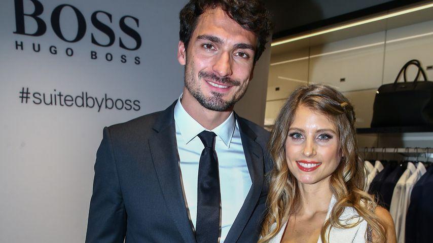 Mats Hummels und Cathy Hummels bei einem Hugo-Boss-Event in Düsseldorf