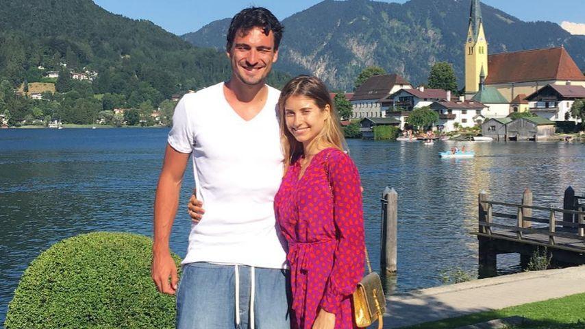 Bayern-Star Mats Hummels und seine Frau Cathy