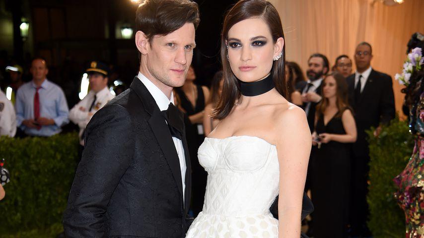Ist Familienplanung Grund für Lily James und Matts Krise?