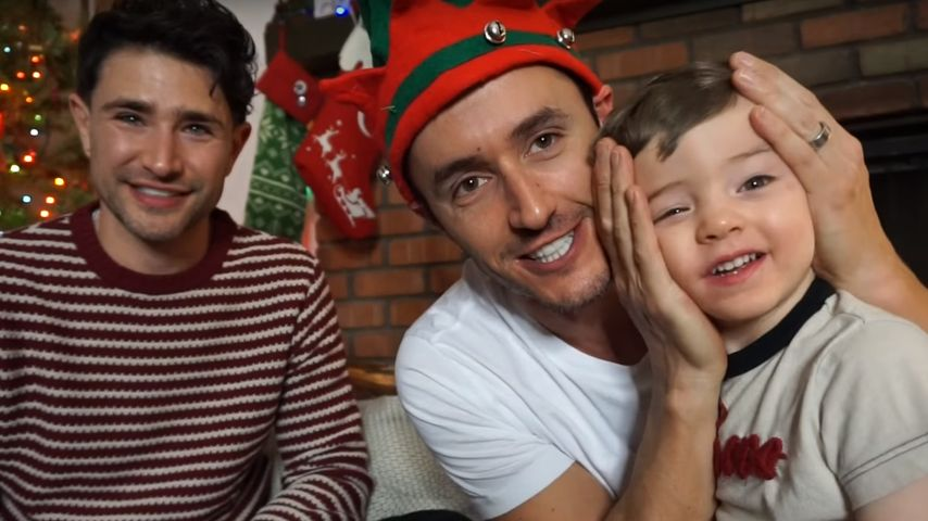 1. Kind adoptiert: Matt Dallas und Ehemann sind stolze Papas