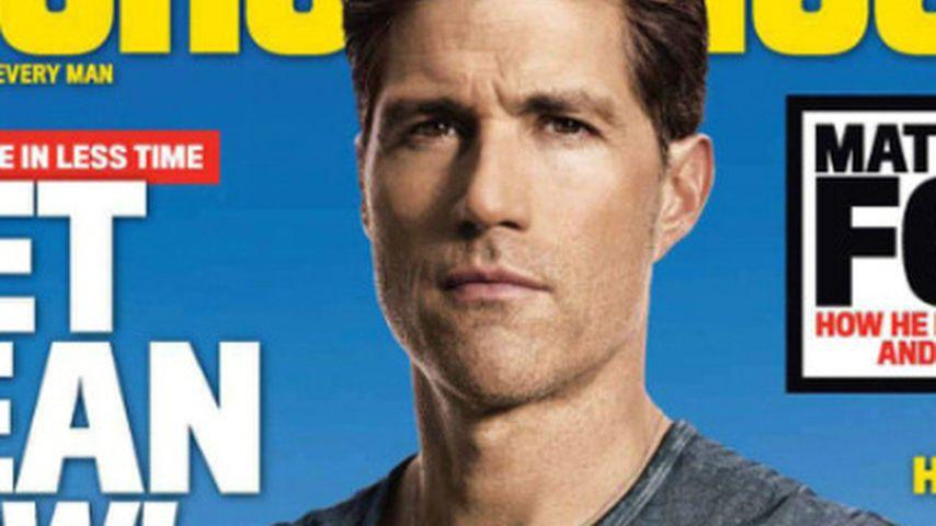 Matthew Fox: Muskulös auf Fitness-Cover!