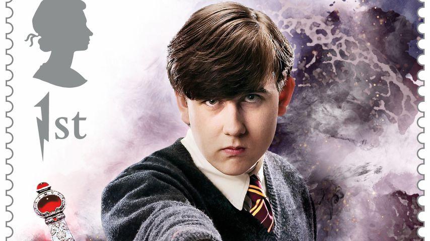 """Matthew Lewis als """"Harry Potter""""-Briefmarke 2018"""