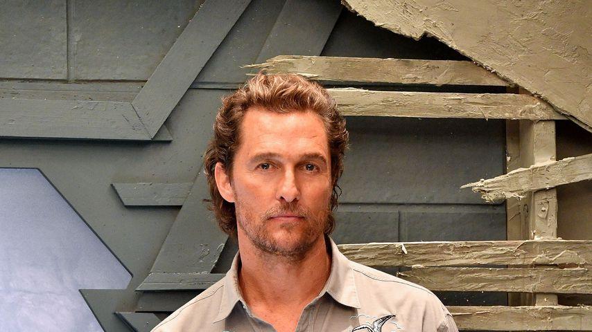 Matthew McConaughey: Er hungerte sich fast blind!