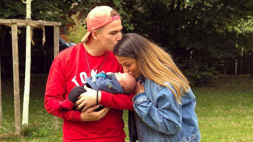 Doppelküsschen: So süß zeigt sich BTN-Jenefers Mini-Family!