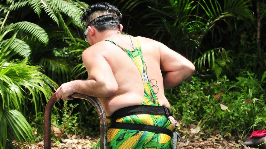 Matthias Mangiapane bricht die Dschungelprüfung ab