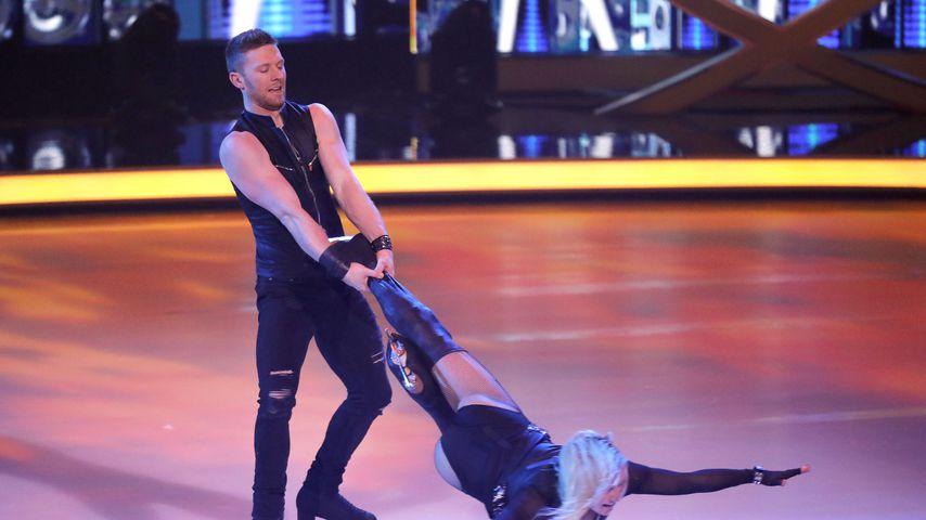 """Matti Landgraf und Aleksandra Bechtel im """"Dancing on Ice""""-Halbfinale 2019"""