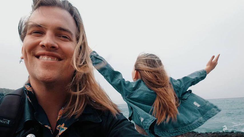 Max Buskohl mit seiner Tochter Lola