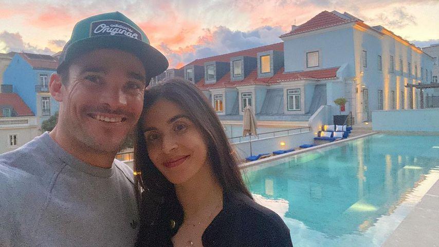 Max Evans mit seiner Freundin Debora Caismiro