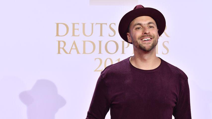 Sänger Max Mutzke beim Deutschen Radiopreis 2018