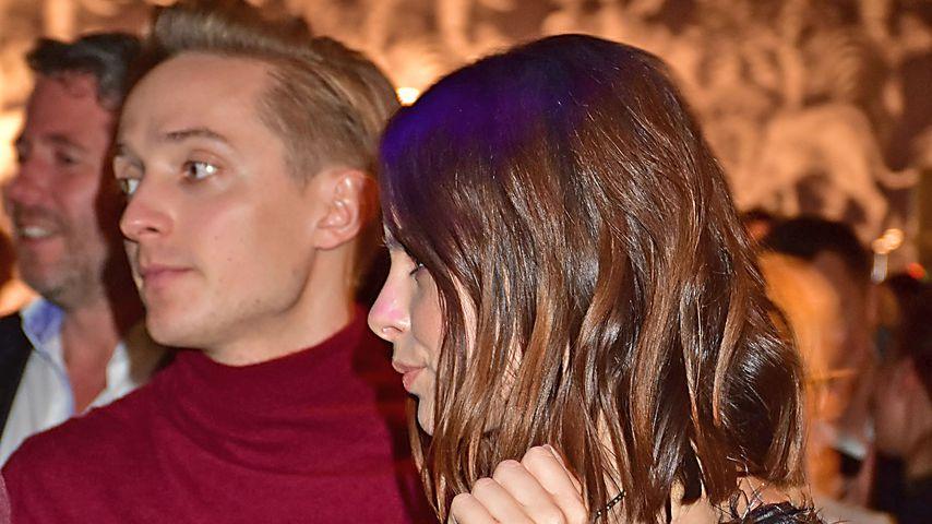 Max von Helldorff und Lena Meyer-Landrut auf der Redesign Opening-Party im KaDeWe 2016