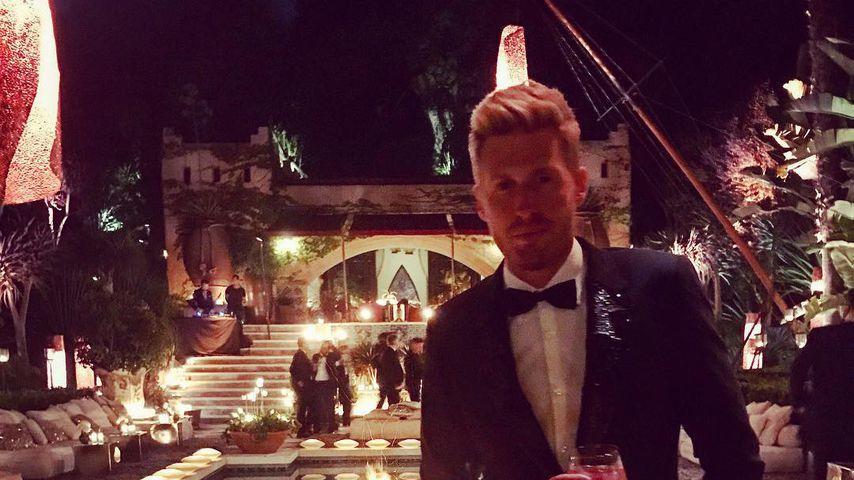 Maximilian Arland bei Roland Emmerichs Hochzeit