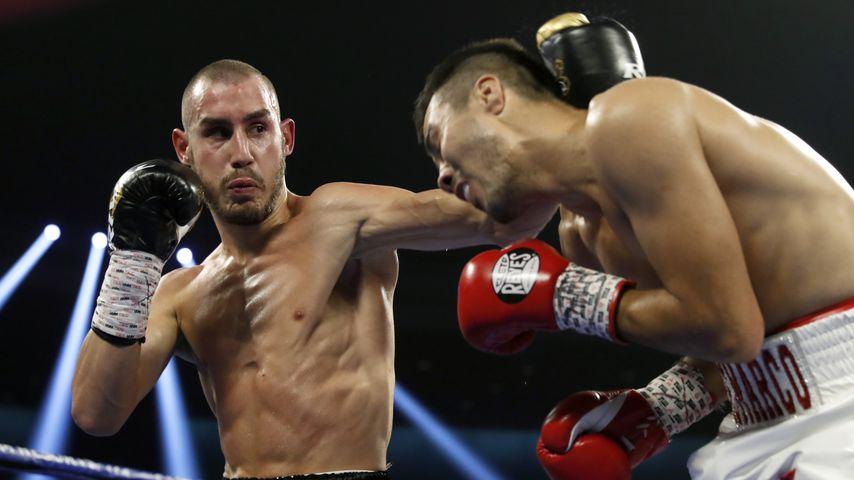 Maxim Dadashev bei einem Kampf gegen Antonio de Marco, 2018
