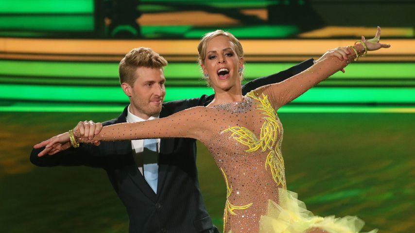 "Maximilian Arland und Isabel Edvardsson bei ""Let's Dance"" 2017"