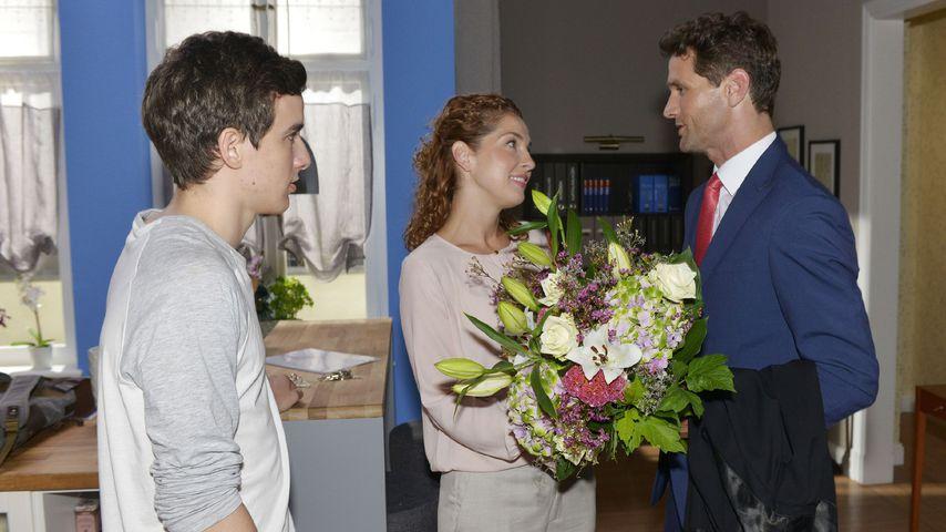 Maximilian Braun, Maria Wedig und Oliver Franck bei GZSZ