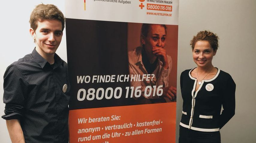 Für den guten Zweck: GZSZ-Stars gegen häusliche Gewalt!