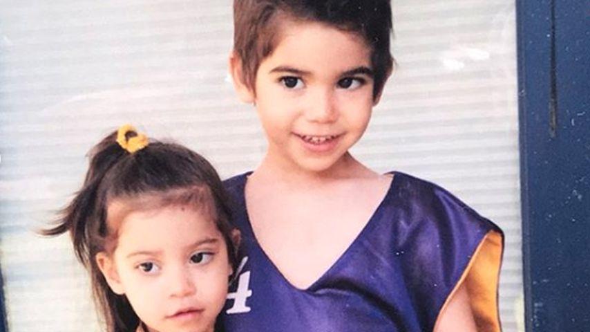 Maya und Cameron Boyce als Kinder