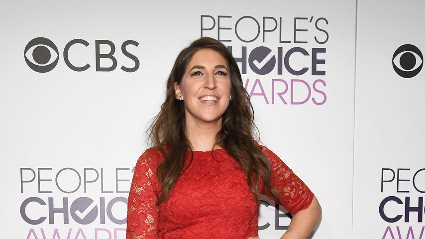 Mayim Bialik bei den People's Choice Awards 2017