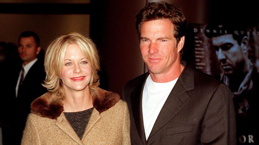 Meg Ryan und Dennis Quaid im Oktober 1998