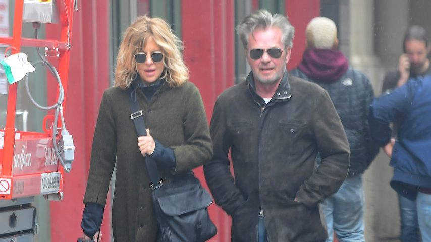 Meg Ryan und John Mellencamp in New York