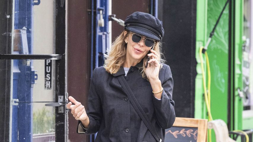 Meg Ryan unterwegs in New York