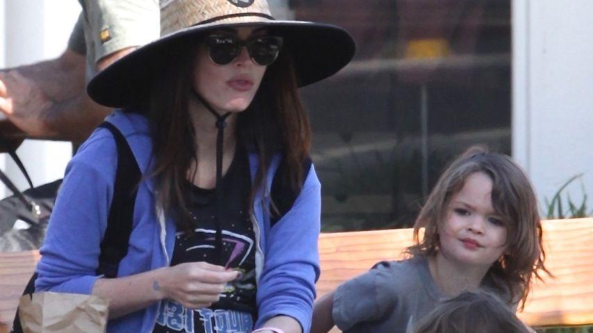 Megan Fox mit ihren Söhnen Noah und Bodhi