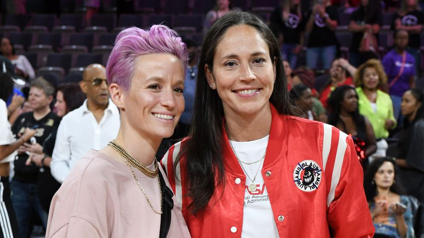 Megan Rapinoe und Sue Bird, 2019