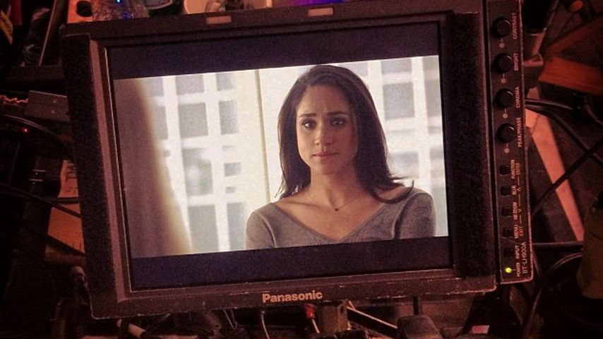 "Meghan Markle am Set von ""Suits"""