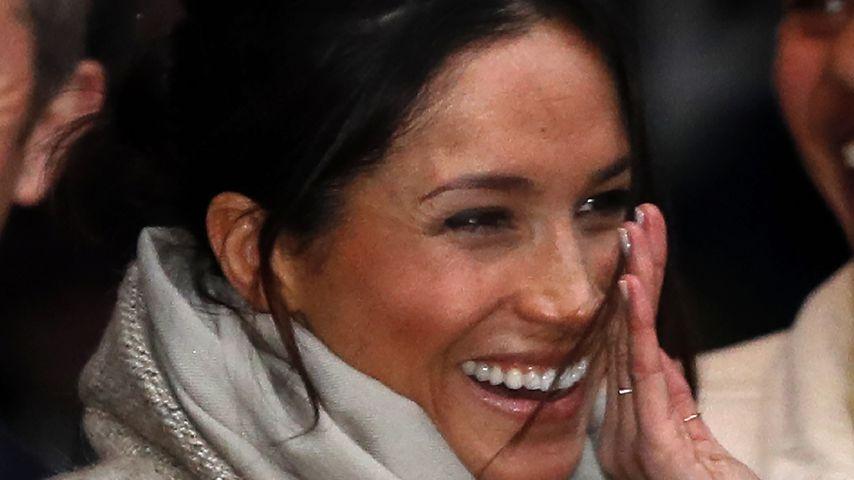 Meghan Markle bei einem öffentlichen Auftritt mit Prinz Harry