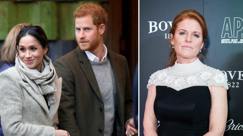 Heirat mit Meghan: Harry will Tante Fergie nicht dabei haben