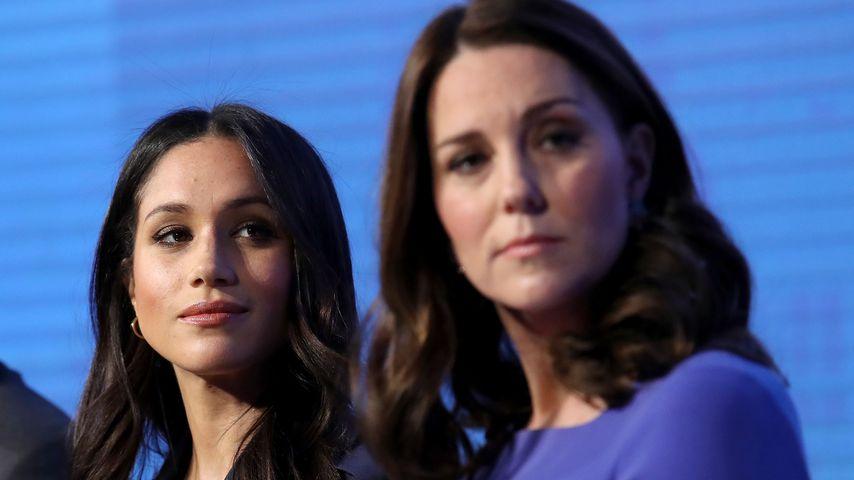 Herzogin Meghan und Herzogin Kate bei einem royalen Termin