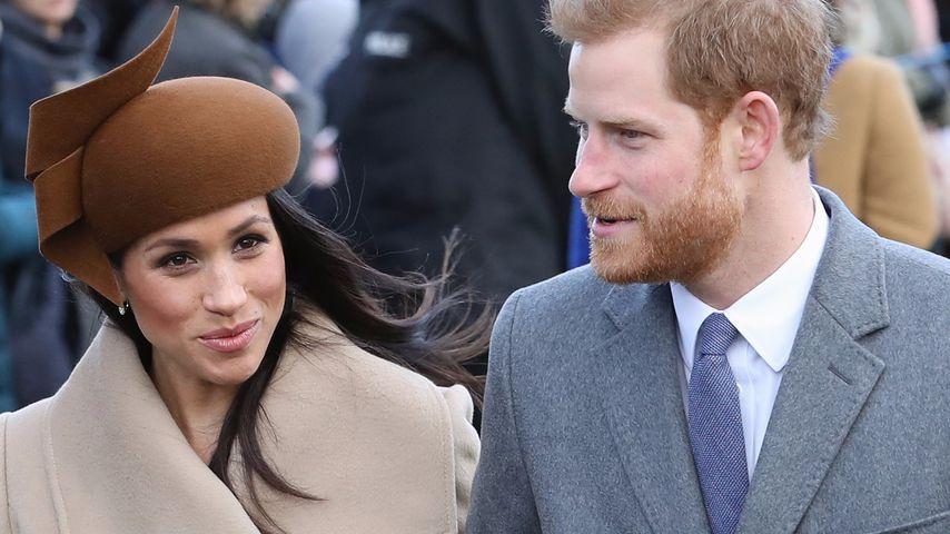 Meghan Markle und Prinz Harry an Weihnachten 2017