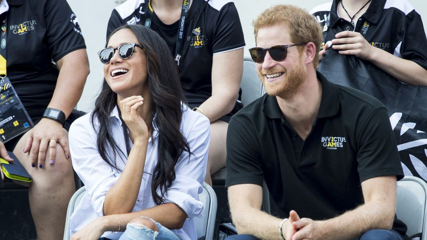 Meghan Markle und Prinz Harry bei den Invictus Games 2017