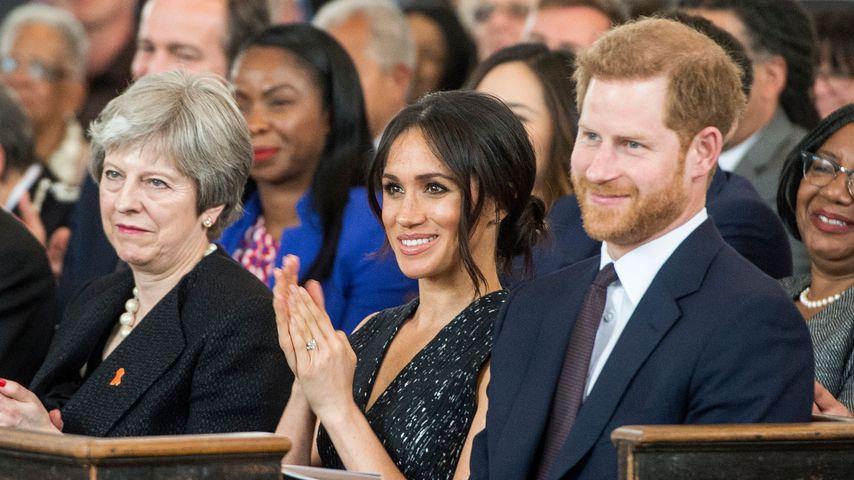 Meghan Markle und Prinz Harry Mitte April