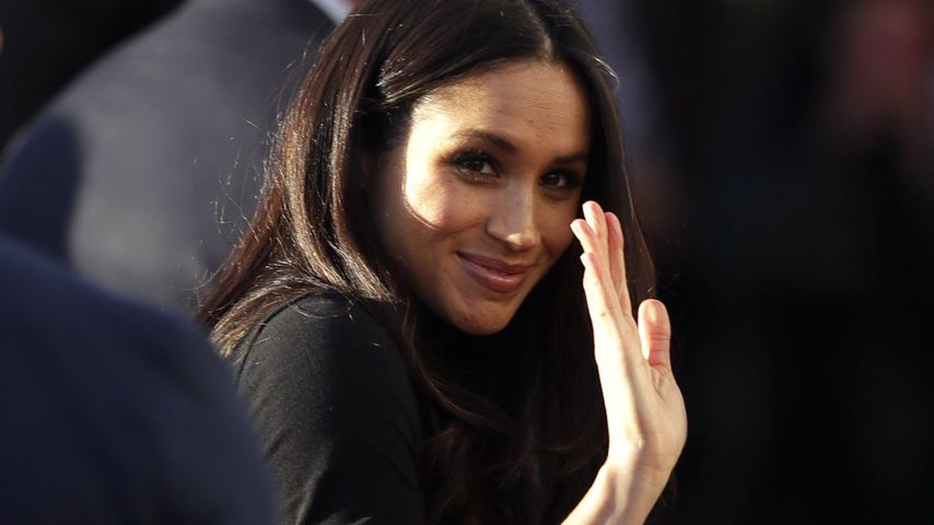 Meghan Markle in Nottingham England 2017