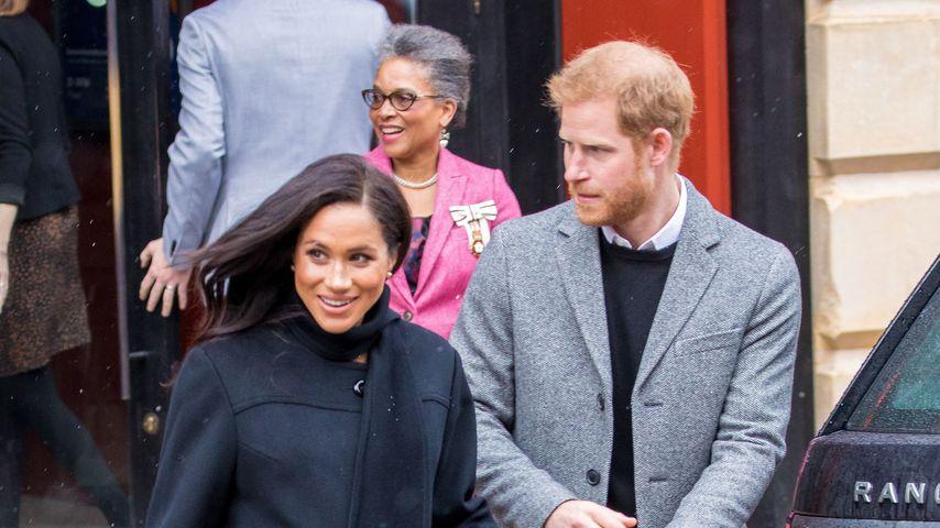 Herzogin Meghan und Prinz Harry, Februar 2020