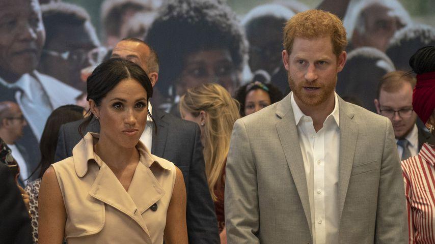Herzogin Meghan und Prinz Harry bei der Nelson Mandela Centenary Exhibition