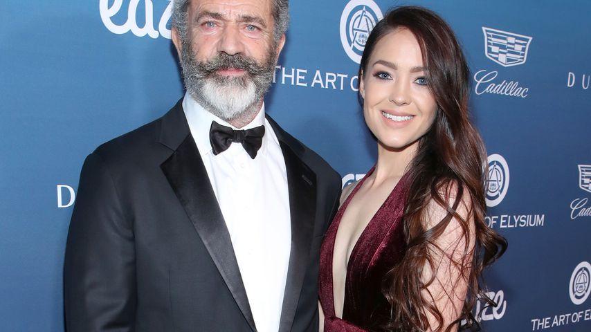 Mel Gibson und Rosalind Ross im Januar 2019