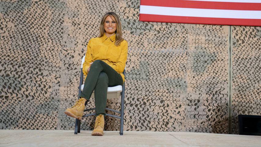 Bei Irak-Besuch: Melania Trump trägt Boots statt High Heels